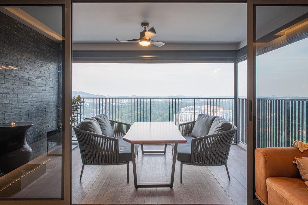 Contemporary, HDB, Balcony, Clementi Avenue 4, Interior Designer, Mr Designer Studio