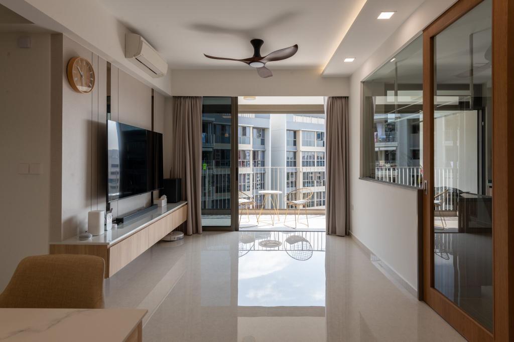 Contemporary, Condo, Living Room, Rivercove Residences, Interior Designer, Mr Designer Studio