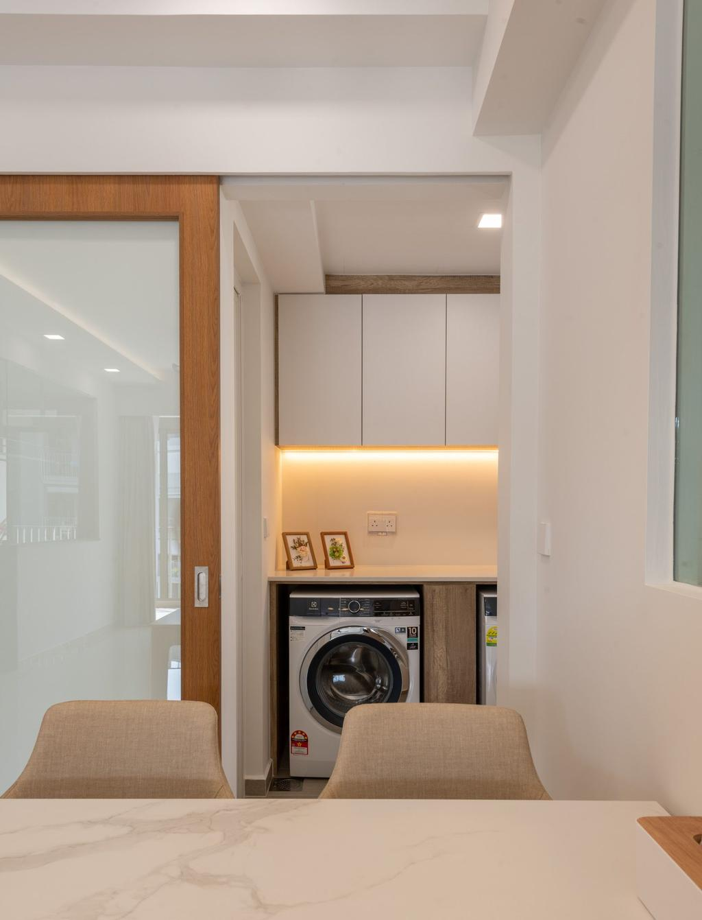 Contemporary, Condo, Kitchen, Rivercove Residences, Interior Designer, Mr Designer Studio