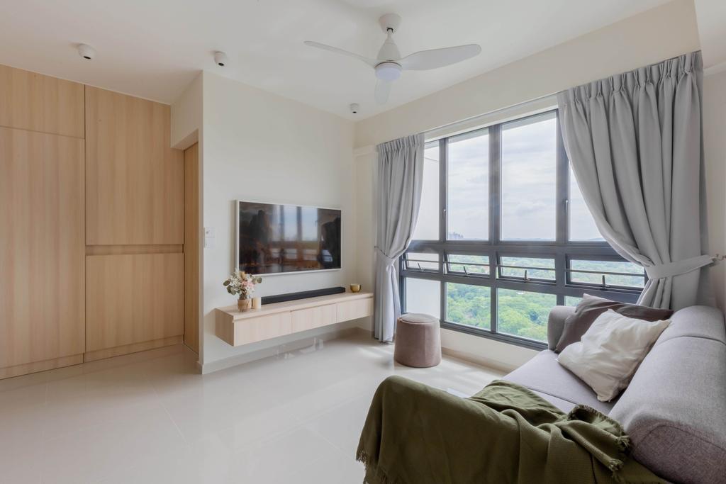 Scandinavian, HDB, Living Room, Skyparc @ Dawson, Interior Designer, Yang's Inspiration Design