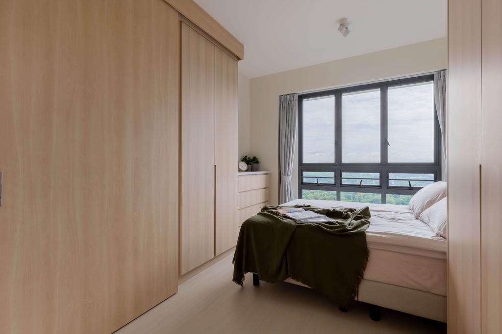 Scandinavian, HDB, Bedroom, Skyparc @ Dawson, Interior Designer, Yang's Inspiration Design
