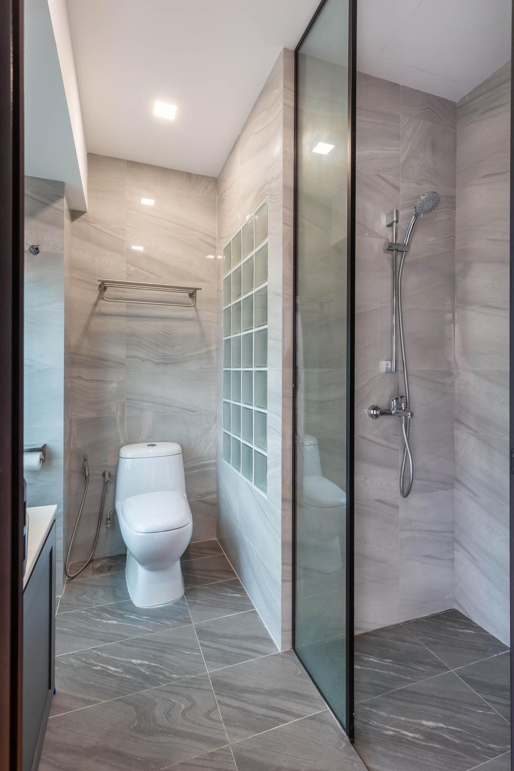 Contemporary, Condo, Bathroom, Springhill, Interior Designer, SHE Interior