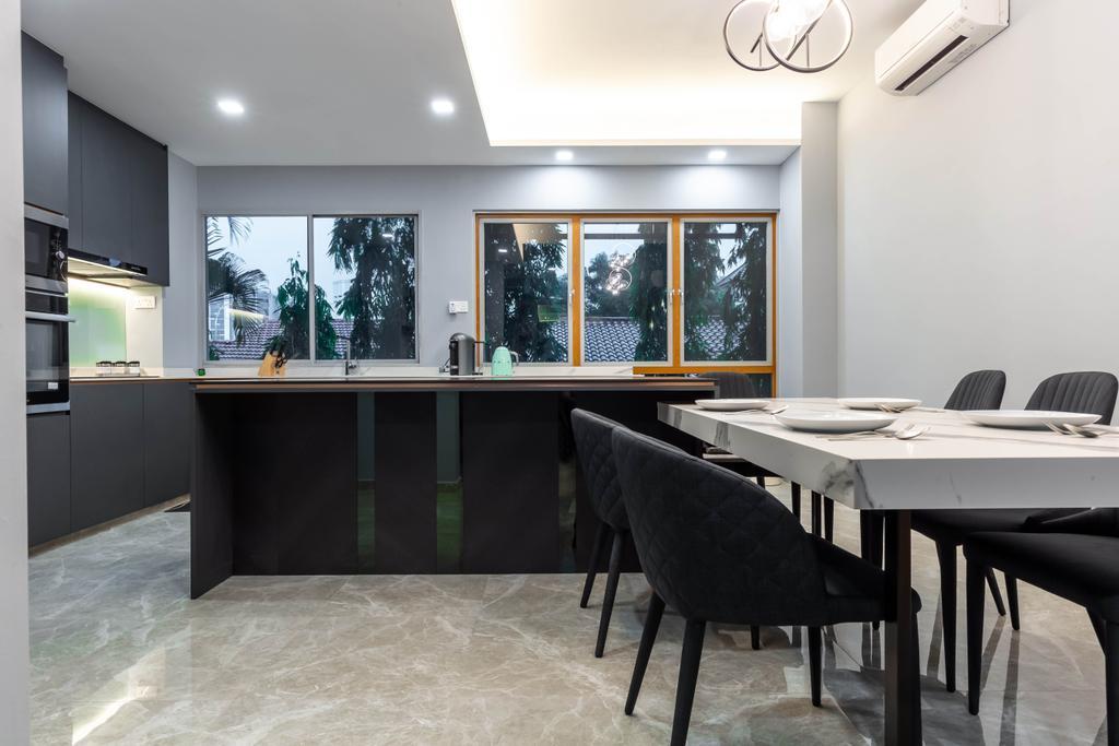 Contemporary, Condo, Dining Room, Springhill, Interior Designer, SHE Interior