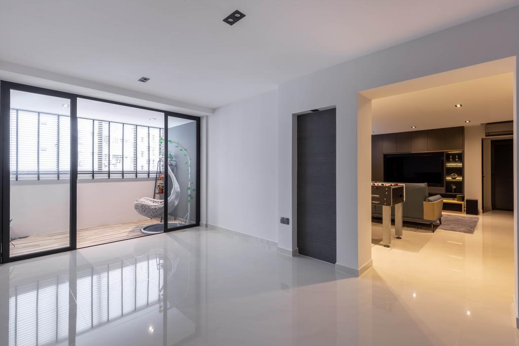 Contemporary, HDB, Balcony, Woodlands Street 41, Interior Designer, SHE Interior