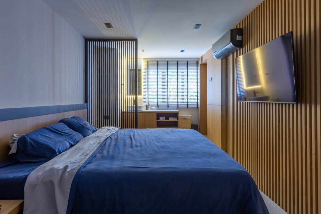 Contemporary, HDB, Bedroom, Woodlands Street 41, Interior Designer, SHE Interior