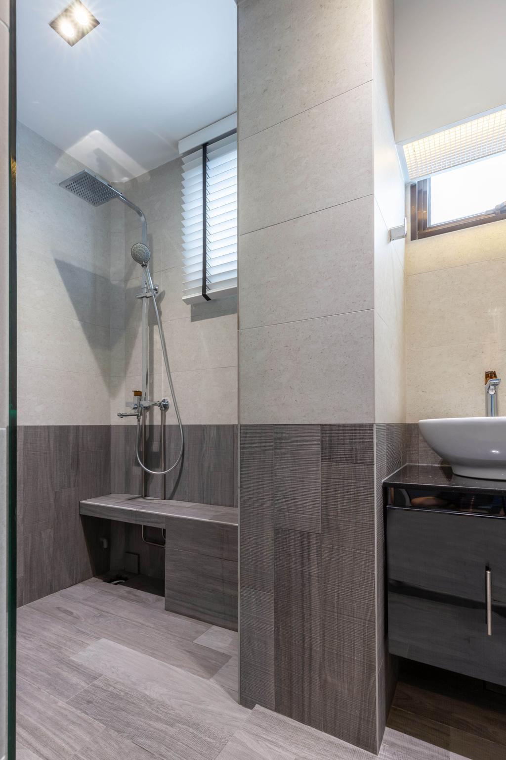 Contemporary, HDB, Bathroom, Woodlands Street 41, Interior Designer, SHE Interior