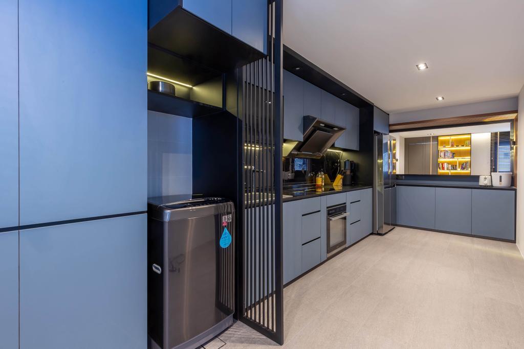 Contemporary, HDB, Kitchen, Woodlands Street 41, Interior Designer, SHE Interior