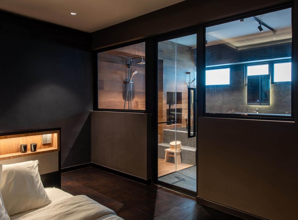Contemporary, HDB, Bathroom, Yung Ho Road, Interior Designer, Dyel Design, Industrial