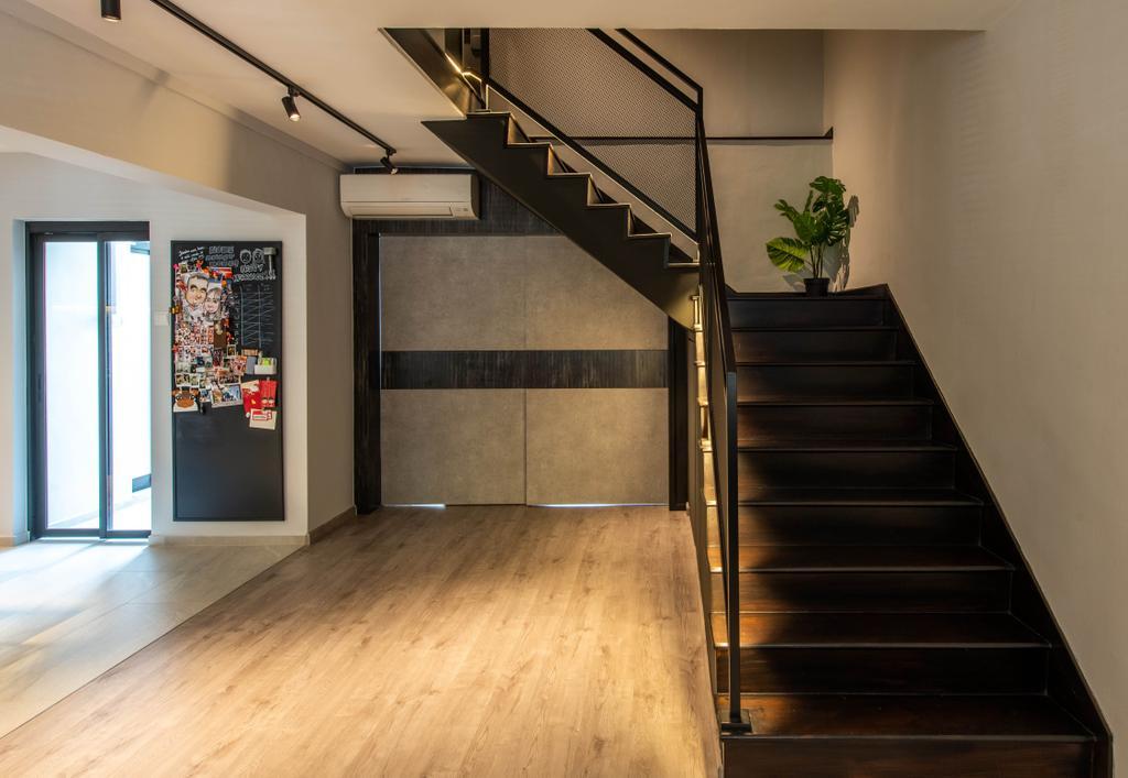 Contemporary, HDB, Yung Ho Road, Interior Designer, Dyel Design, Industrial