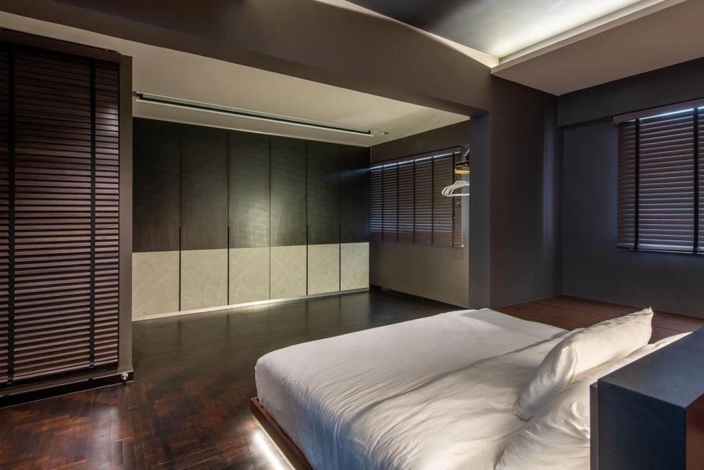 Contemporary, HDB, Bedroom, Yung Ho Road, Interior Designer, Dyel Design, Industrial