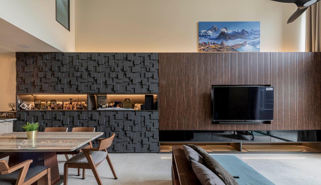Contemporary, Landed, Living Room, Nim Collection, Interior Designer, De Exclusive Design Group