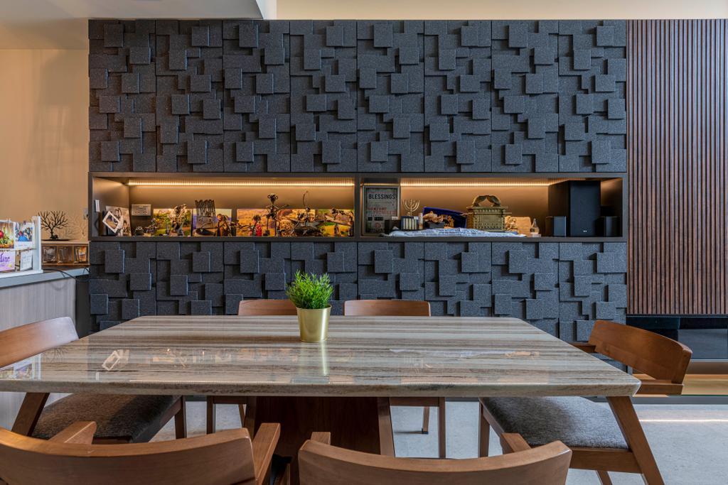 Contemporary, Landed, Dining Room, Nim Collection, Interior Designer, De Exclusive Design Group