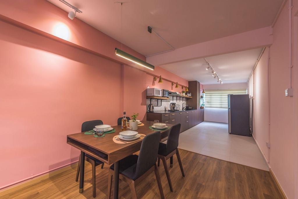 Contemporary, HDB, Dining Room, Clementi Avenue 4, Interior Designer, Archive Design