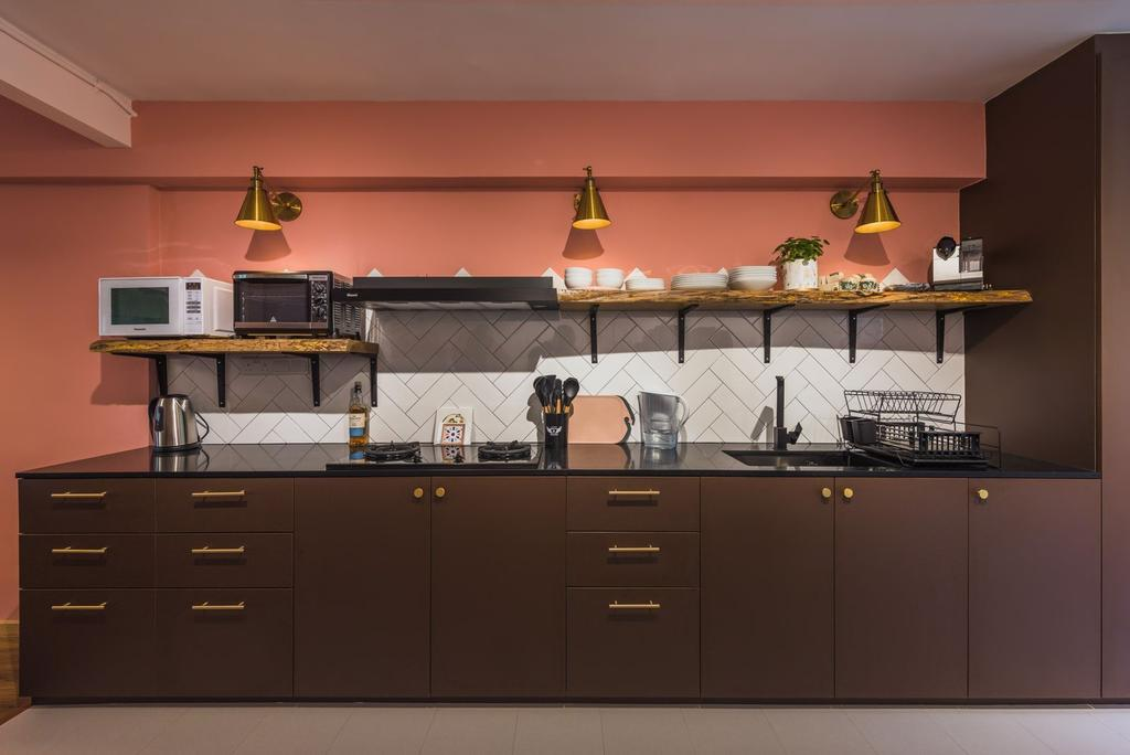 Contemporary, HDB, Kitchen, Clementi Avenue 4, Interior Designer, Archive Design