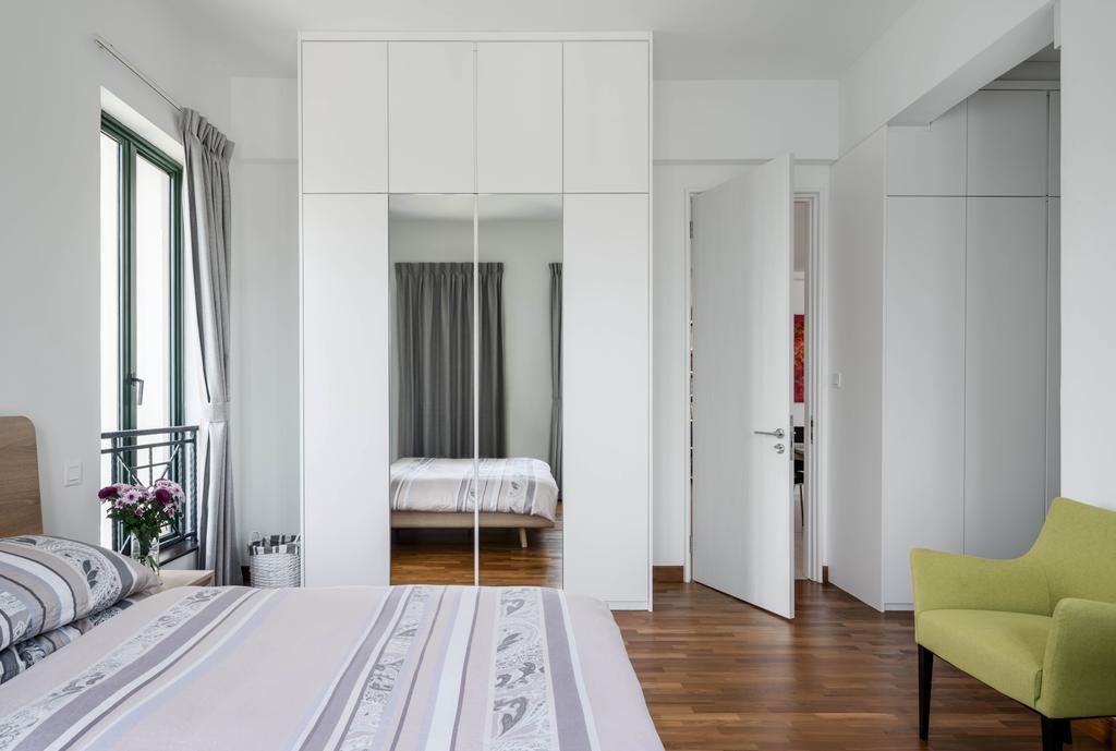 Contemporary, Condo, Bedroom, Pebble Bay, Interior Designer, T&T Design Artisan