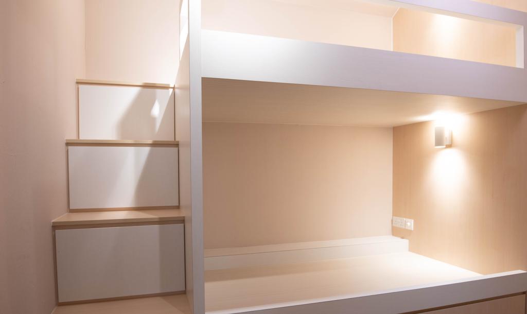 Scandinavian, HDB, Bedroom, Tampines Street 22, Interior Designer, goodStudio