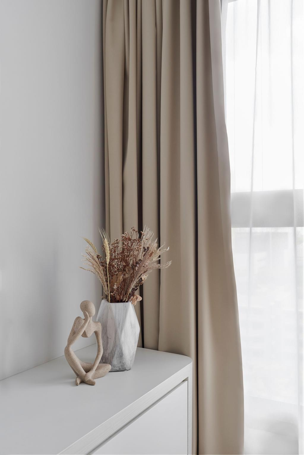 Contemporary, HDB, Living Room, Bidadari Park Drive, Interior Designer, Lemonfridge Studio