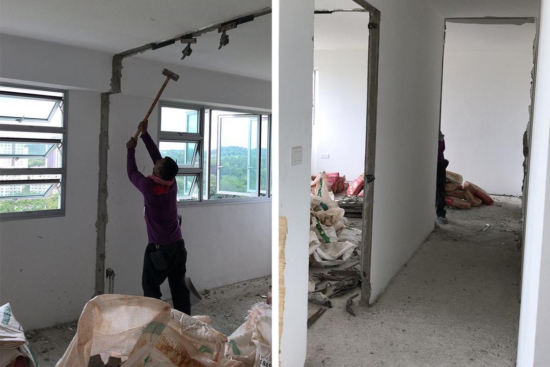 Ang Mo Kio HDB flat renovation
