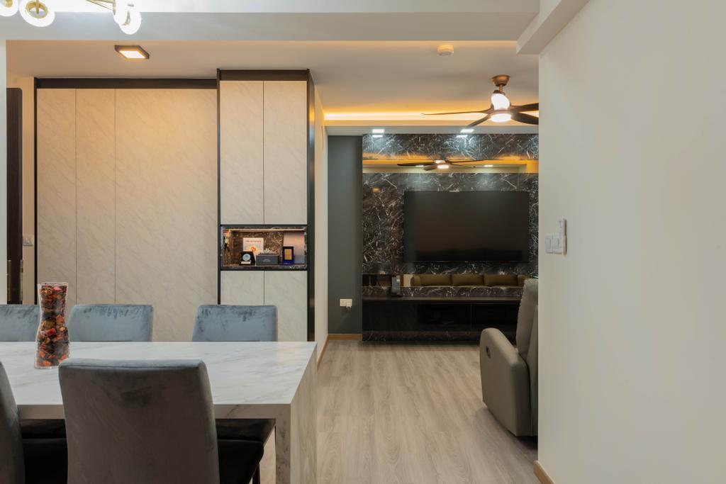Transitional, HDB, Living Room, Northshore Drive, Interior Designer, Tab Gallery