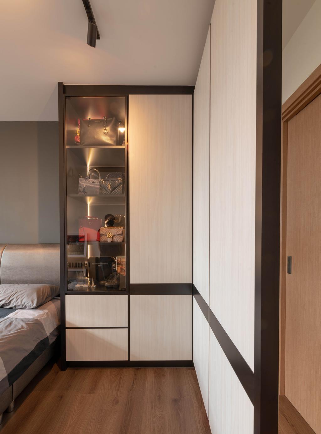 Transitional, HDB, Bedroom, Northshore Drive, Interior Designer, Tab Gallery