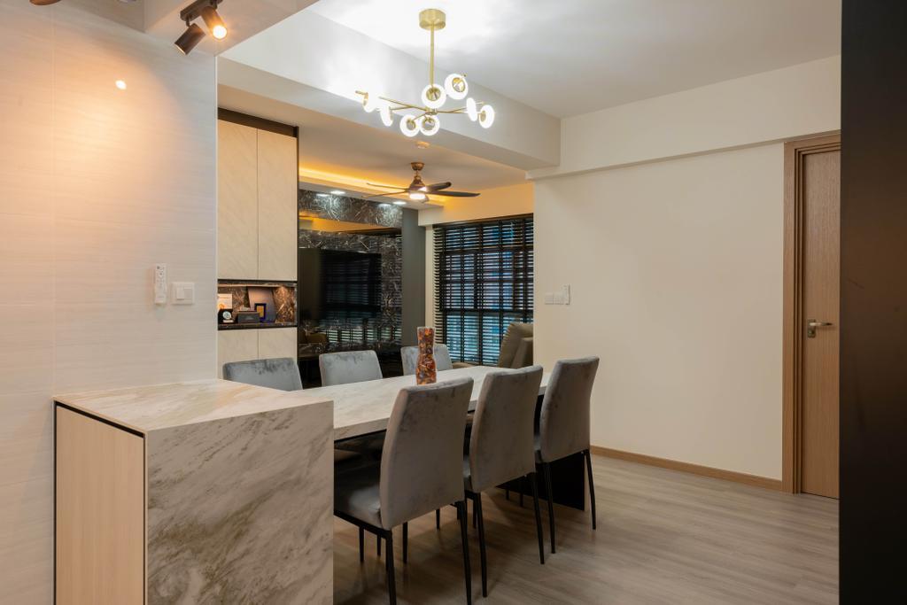 Transitional, HDB, Dining Room, Northshore Drive, Interior Designer, Tab Gallery