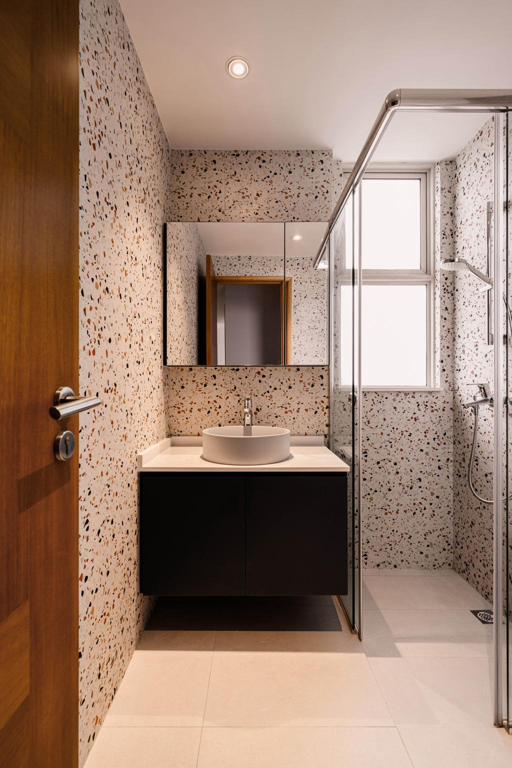 Contemporary, Condo, Bathroom, Sunglade, Interior Designer, Ovon Design