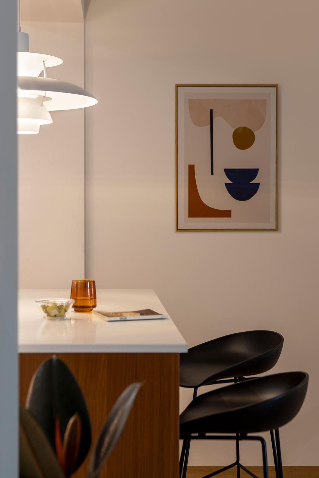 Scandinavian, HDB, Dining Room, Canberra Street, Interior Designer, Lemonfridge Studio