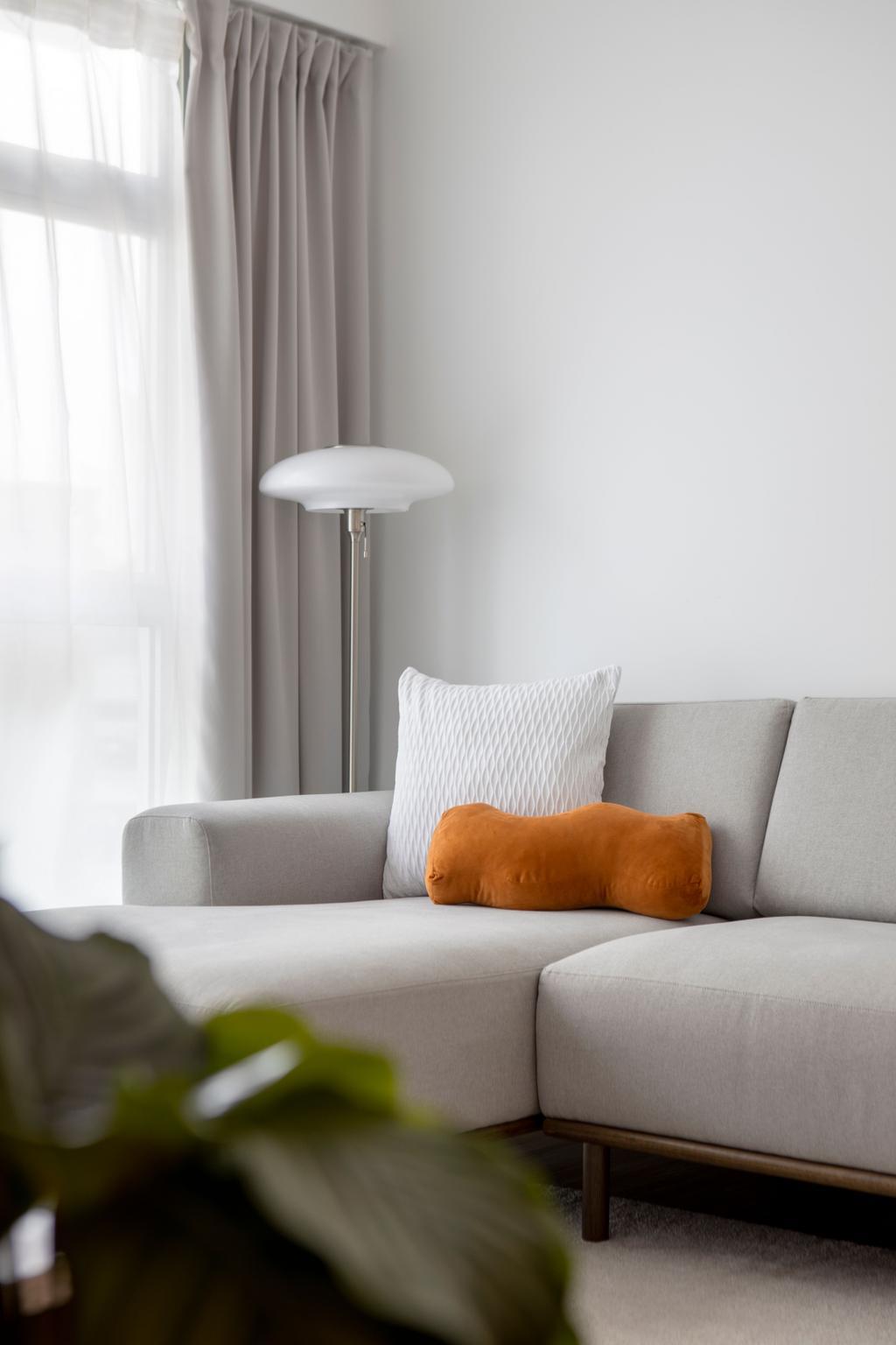 Scandinavian, HDB, Living Room, Canberra Street, Interior Designer, Lemonfridge Studio
