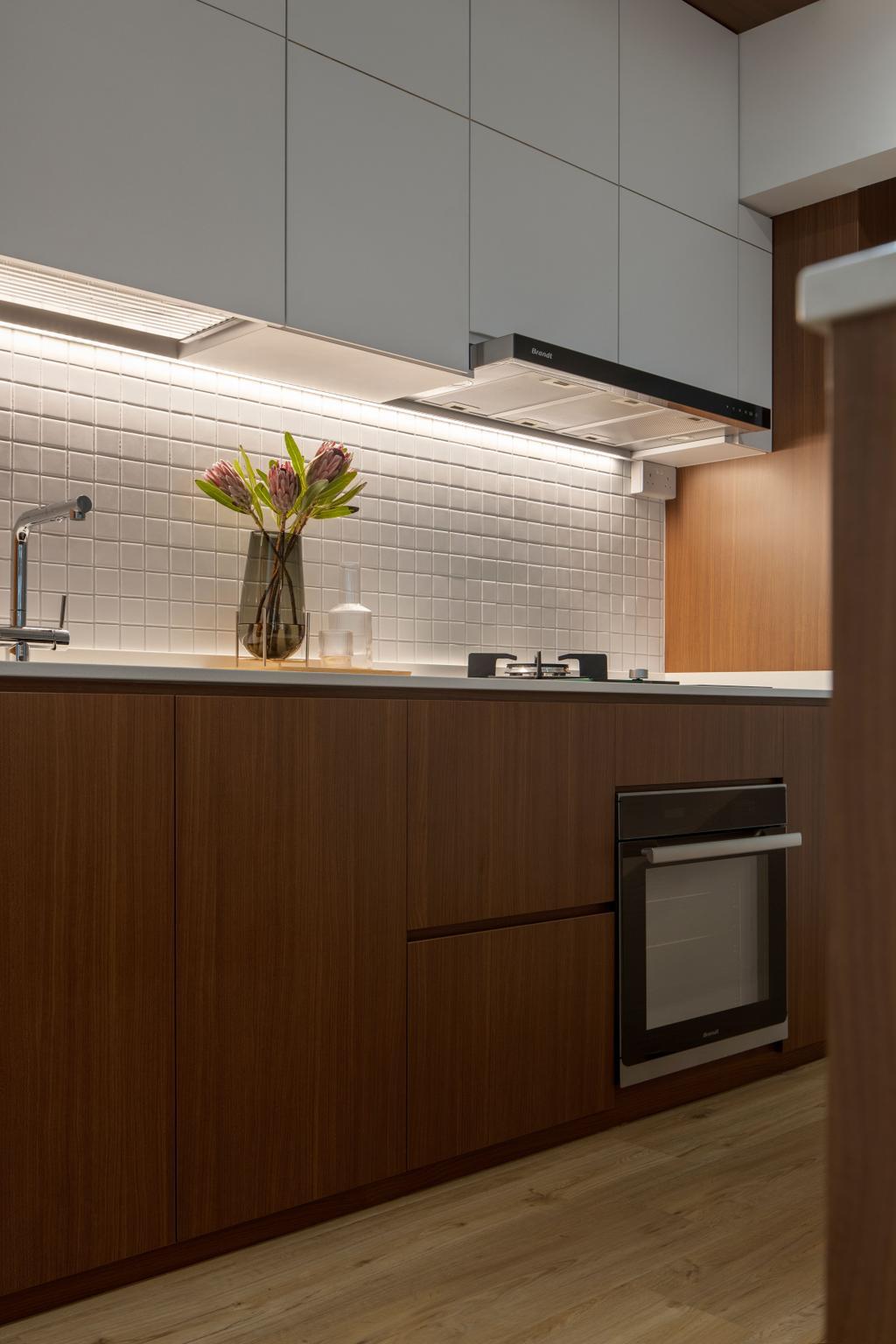 Scandinavian, HDB, Kitchen, Canberra Street, Interior Designer, Lemonfridge Studio