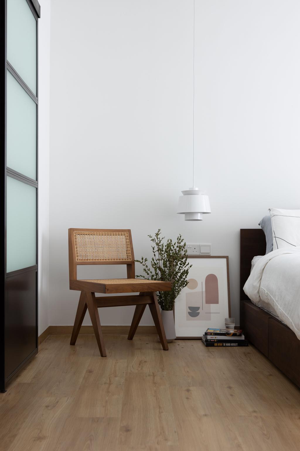 Scandinavian, HDB, Bedroom, Canberra Street, Interior Designer, Lemonfridge Studio