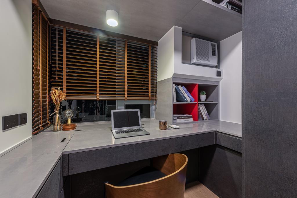 摩登, 私家樓, 書房, 嘉亨灣, 室內設計師, Deco Farmer Studio