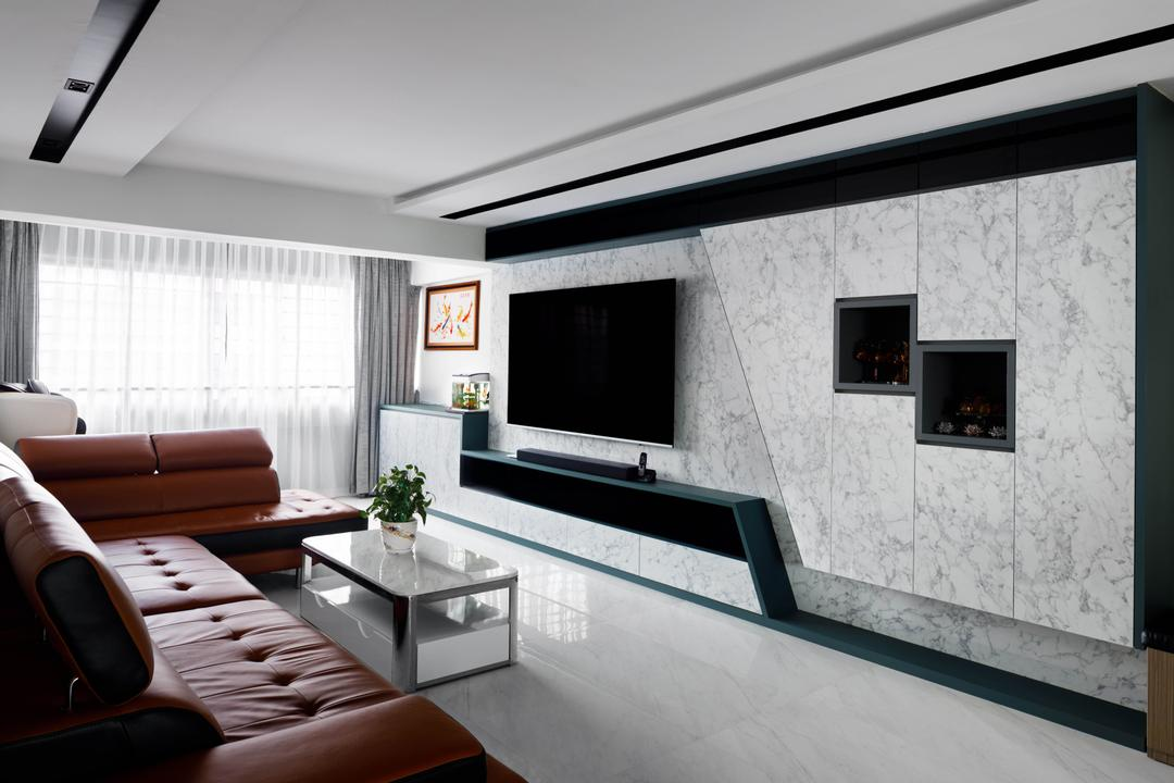 Bedok Reservoir Road Living Room Interior Design 8