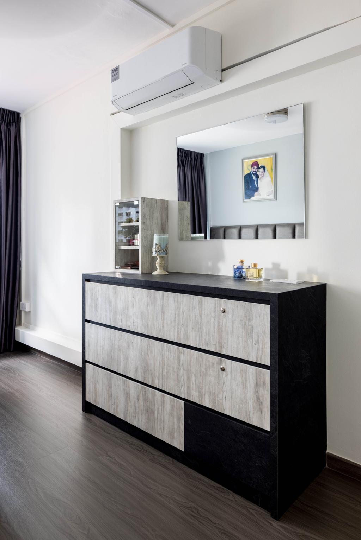 Contemporary, HDB, Bedroom, Jurong East Street 52, Interior Designer, Apex Studios
