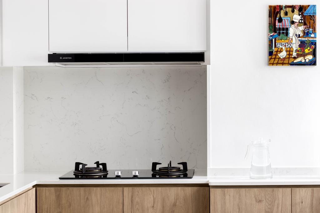 Contemporary, HDB, Kitchen, Jurong East Street 52, Interior Designer, Apex Studios