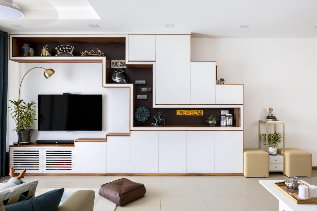 Contemporary, Condo, Living Room, Mi Casa, Interior Designer, Apex Studios