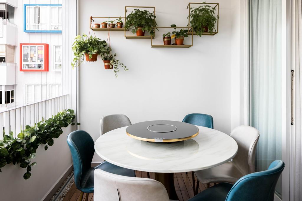 Contemporary, Condo, Balcony, Mi Casa, Interior Designer, Apex Studios