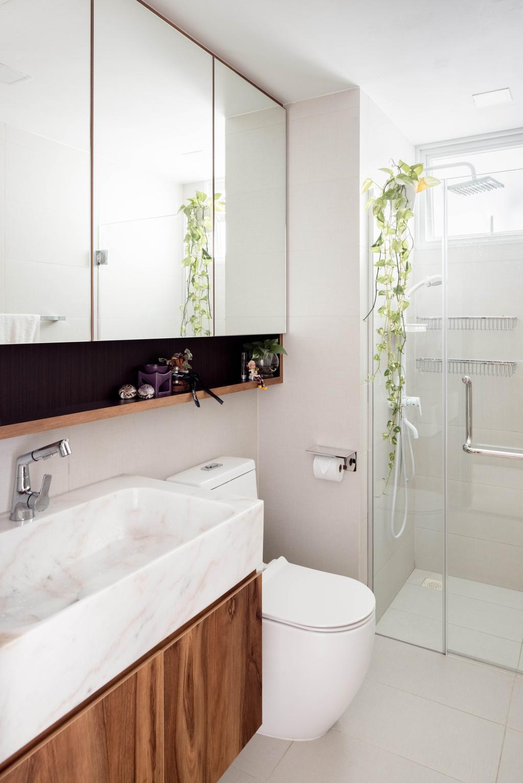 Contemporary, Condo, Bathroom, Mi Casa, Interior Designer, Apex Studios