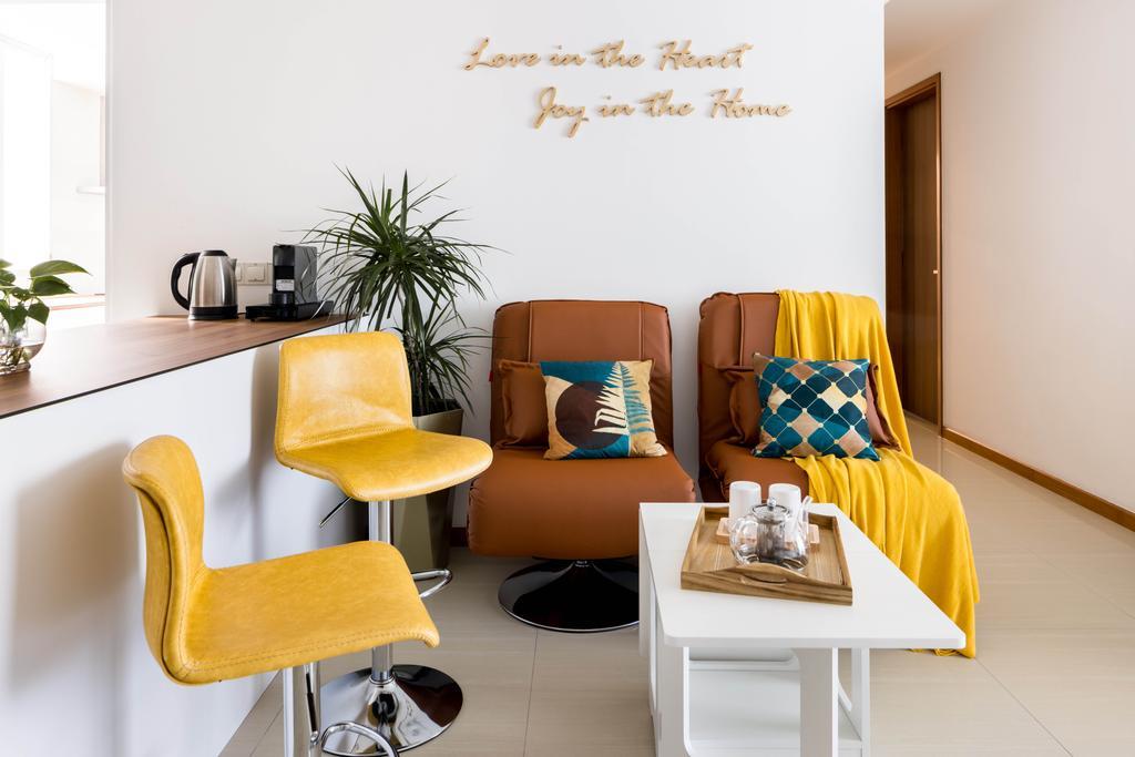 Contemporary, Condo, Dining Room, Mi Casa, Interior Designer, Apex Studios