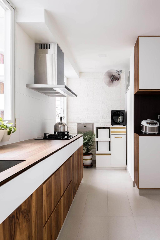 Contemporary, Condo, Kitchen, Mi Casa, Interior Designer, Apex Studios