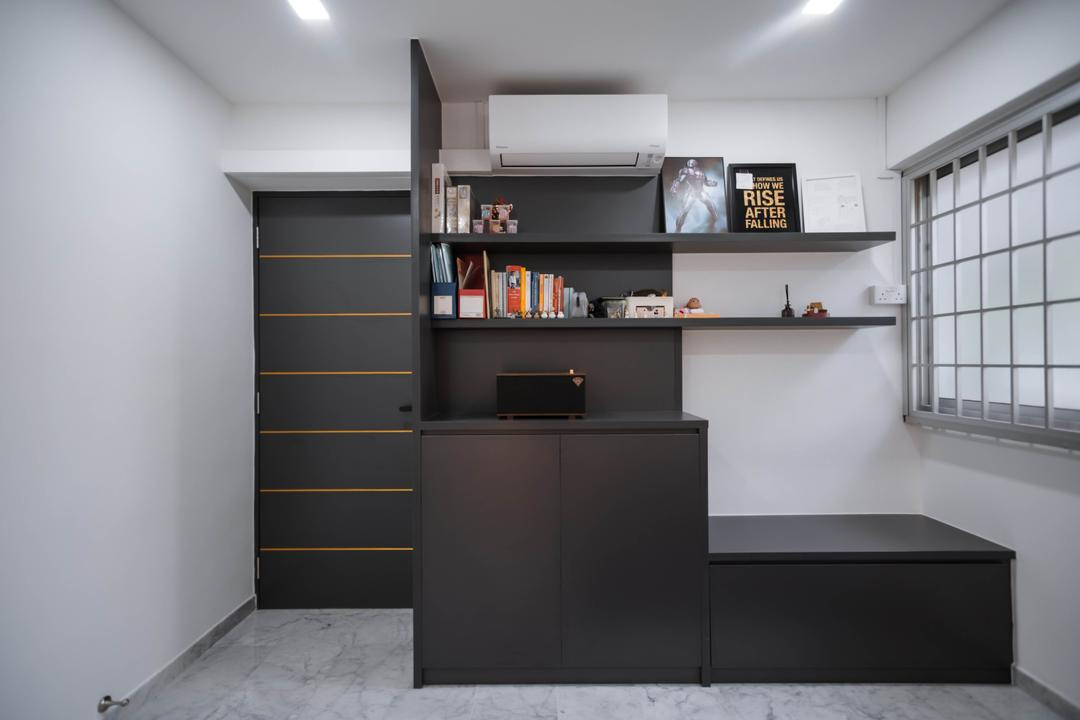 Pasir Ris Street 41, Renex Interior, Transitional, Contemporary, Bedroom, HDB