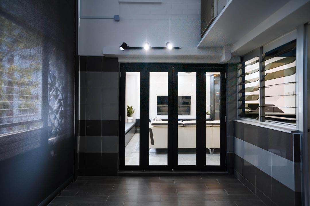 Pasir Ris Street 41, Renex Interior, Transitional, Contemporary, Balcony, HDB
