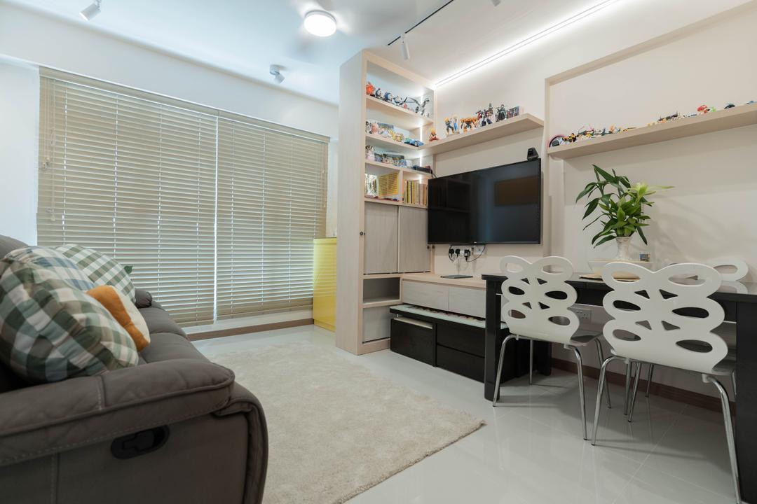 Northshore Drive Living Room Interior Design 13