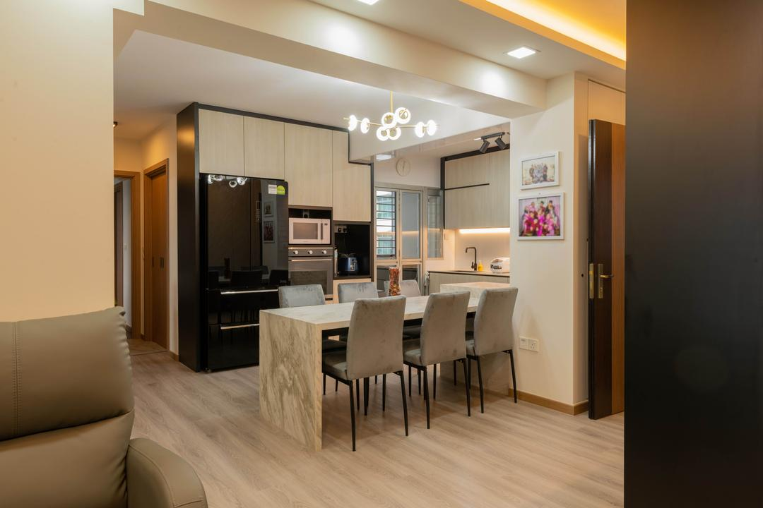Northshore Drive, Tab Gallery, Transitional, Dining Room, HDB