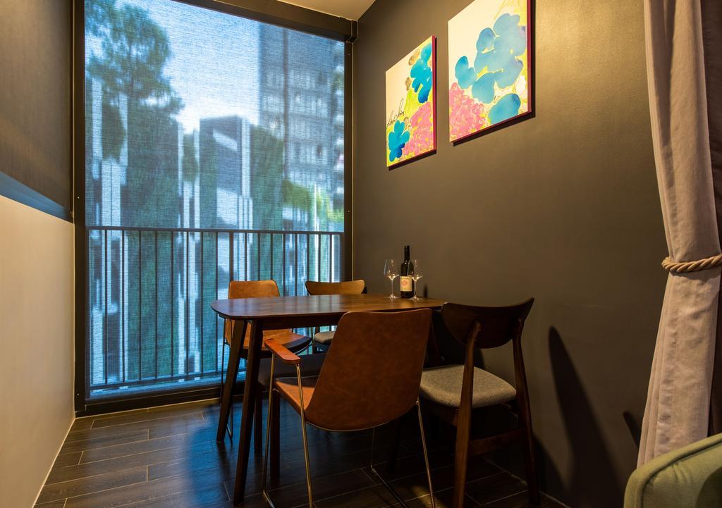 Contemporary, Condo, Dining Room, Gem Residences, Interior Designer, Dyel Design
