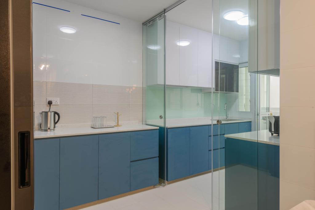 Contemporary, HDB, Kitchen, Tampines Street 62, Interior Designer, Design Story