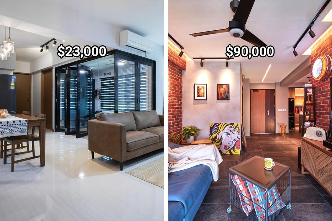 4-room flat renovations in Singapore budget 31