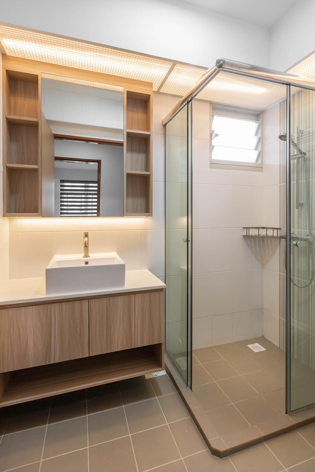 Contemporary, HDB, Bathroom, Sumang Walk, Interior Designer, ID Gallery Interior