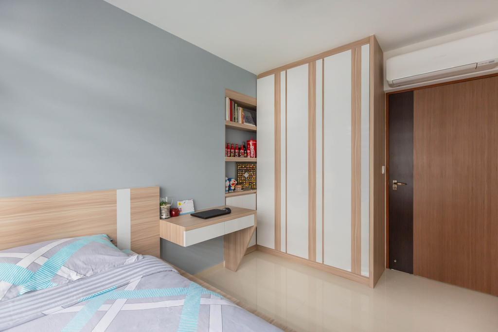 Contemporary, HDB, Bedroom, Sumang Walk, Interior Designer, ID Gallery Interior