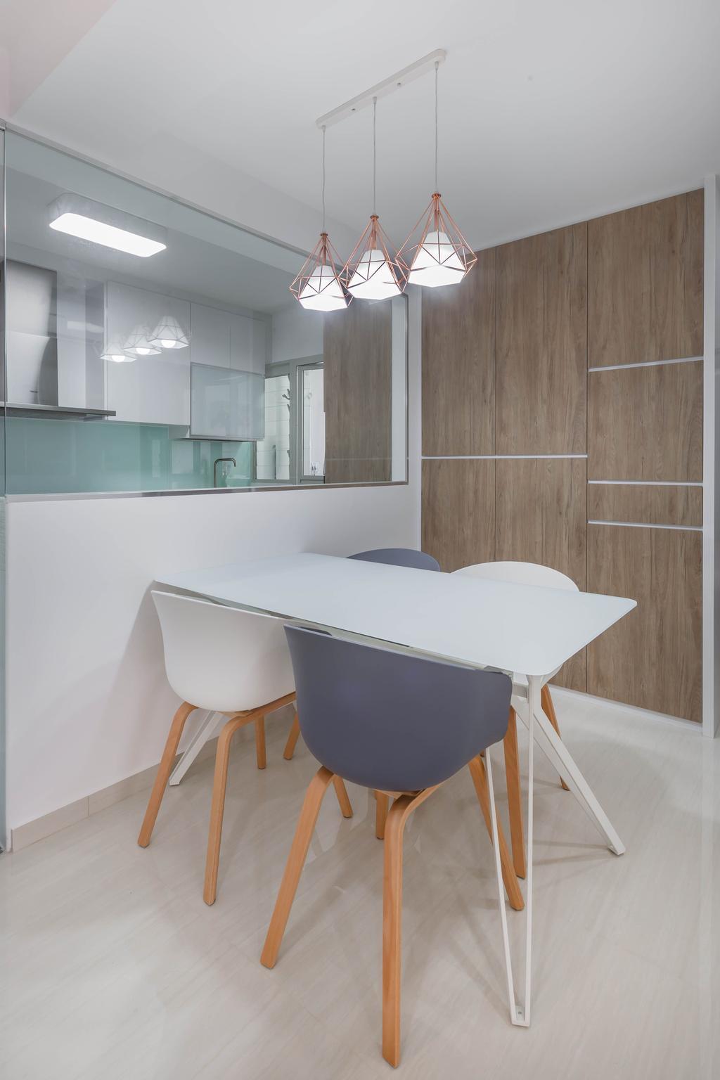 Contemporary, HDB, Dining Room, Sumang Walk, Interior Designer, ID Gallery Interior