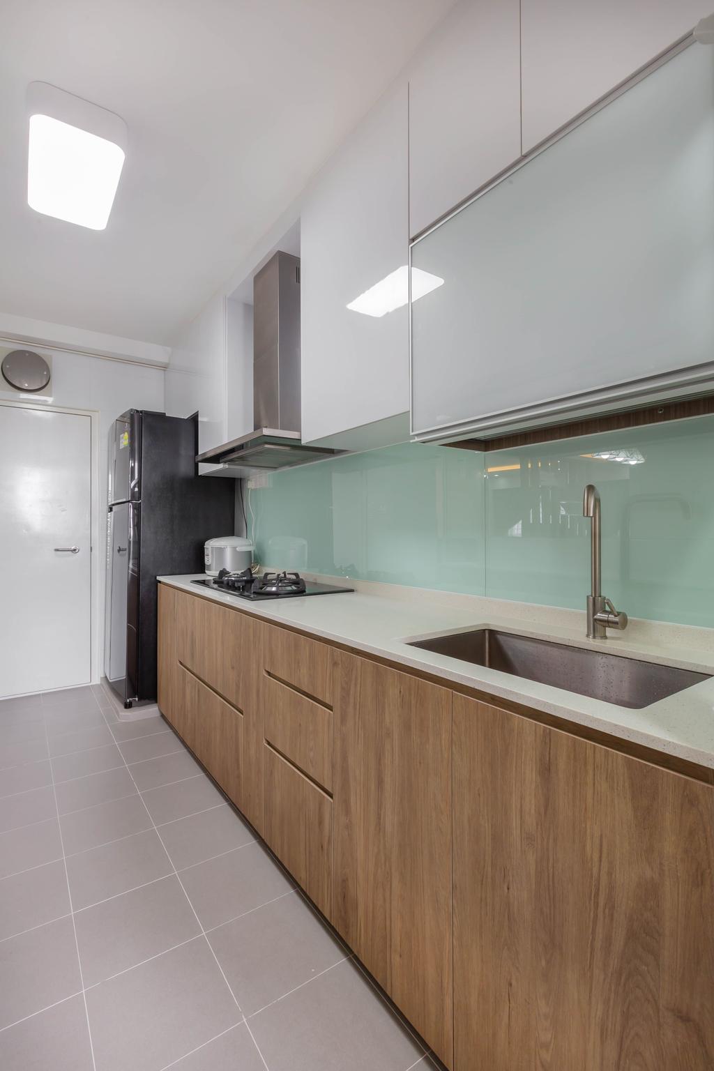 Contemporary, HDB, Kitchen, Sumang Walk, Interior Designer, ID Gallery Interior
